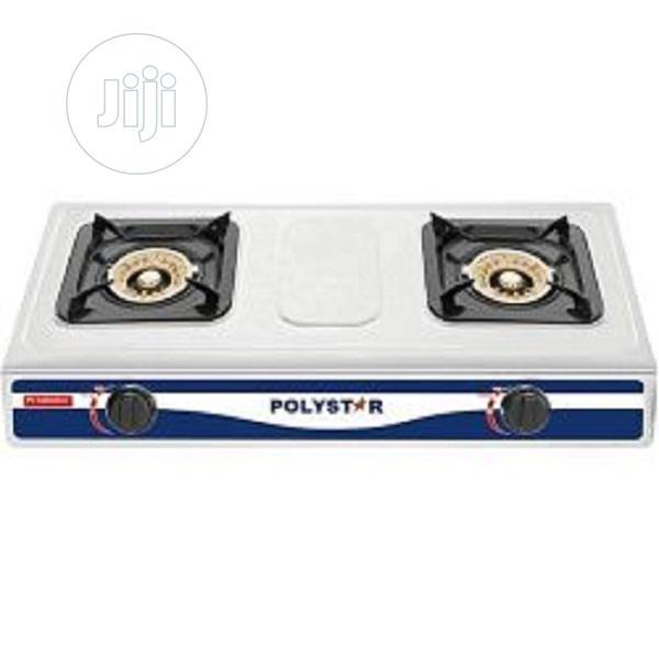 Polystar 2 Burner Gas Cooker (PV-KGRGD057)