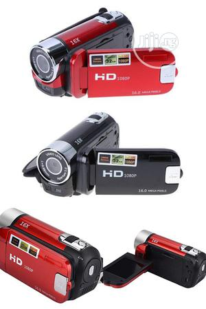 Digital Video Camera Full HD 1080P 16MP 16X Zoom Camcorder. | Photo & Video Cameras for sale in Lagos State, Ikeja