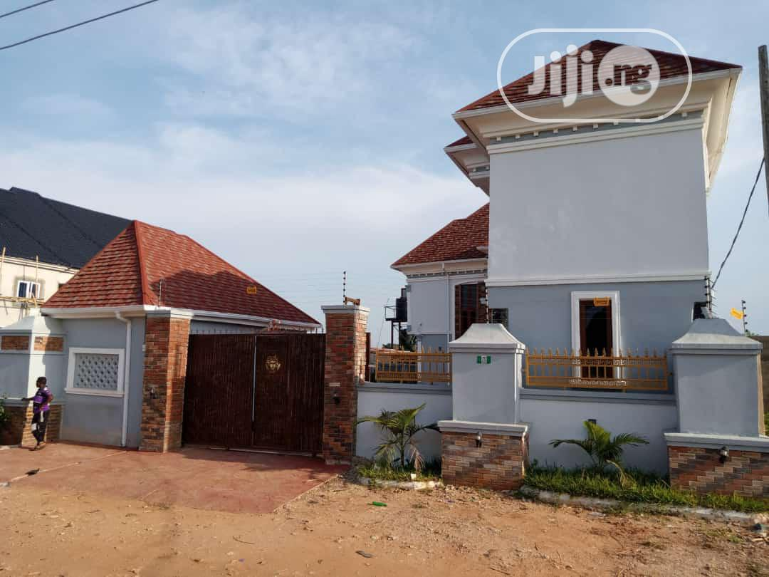 Standard Newly Built 5 Bedroom Duplex For Sale At Asaba.
