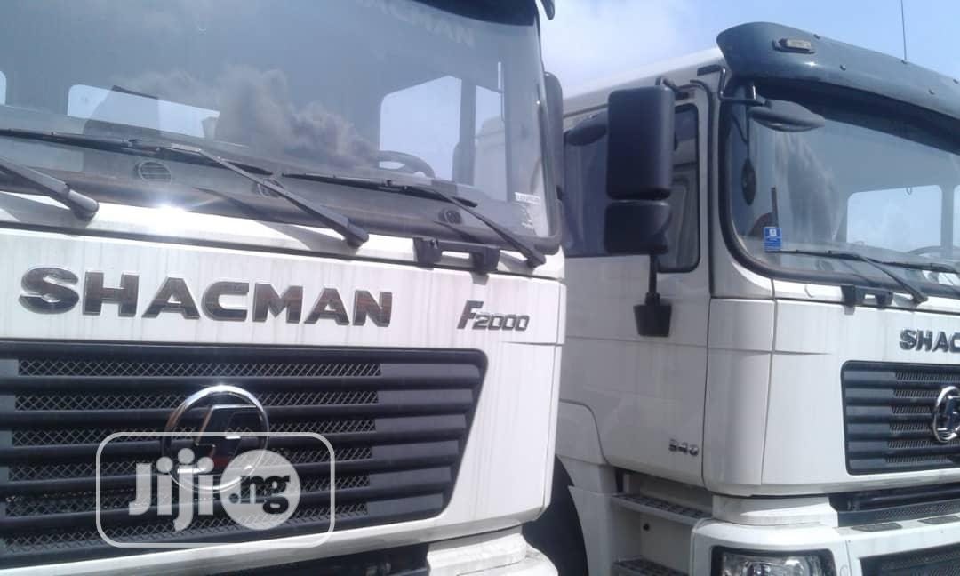 Brand New 30tons SHACMAN Ten Tyres Tipper Truck Head Truck | Trucks & Trailers for sale in Apapa, Lagos State, Nigeria