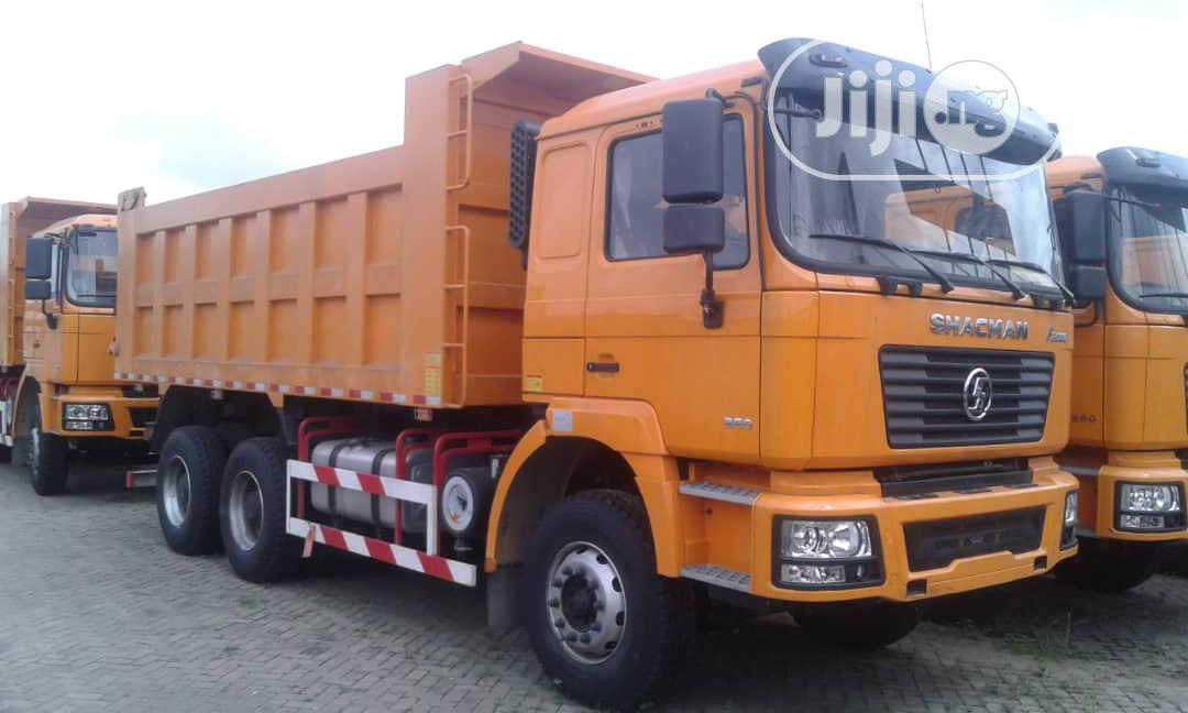 Brand New 30tons SHACMAN Ten Tyres Tipper Truck Head Truck