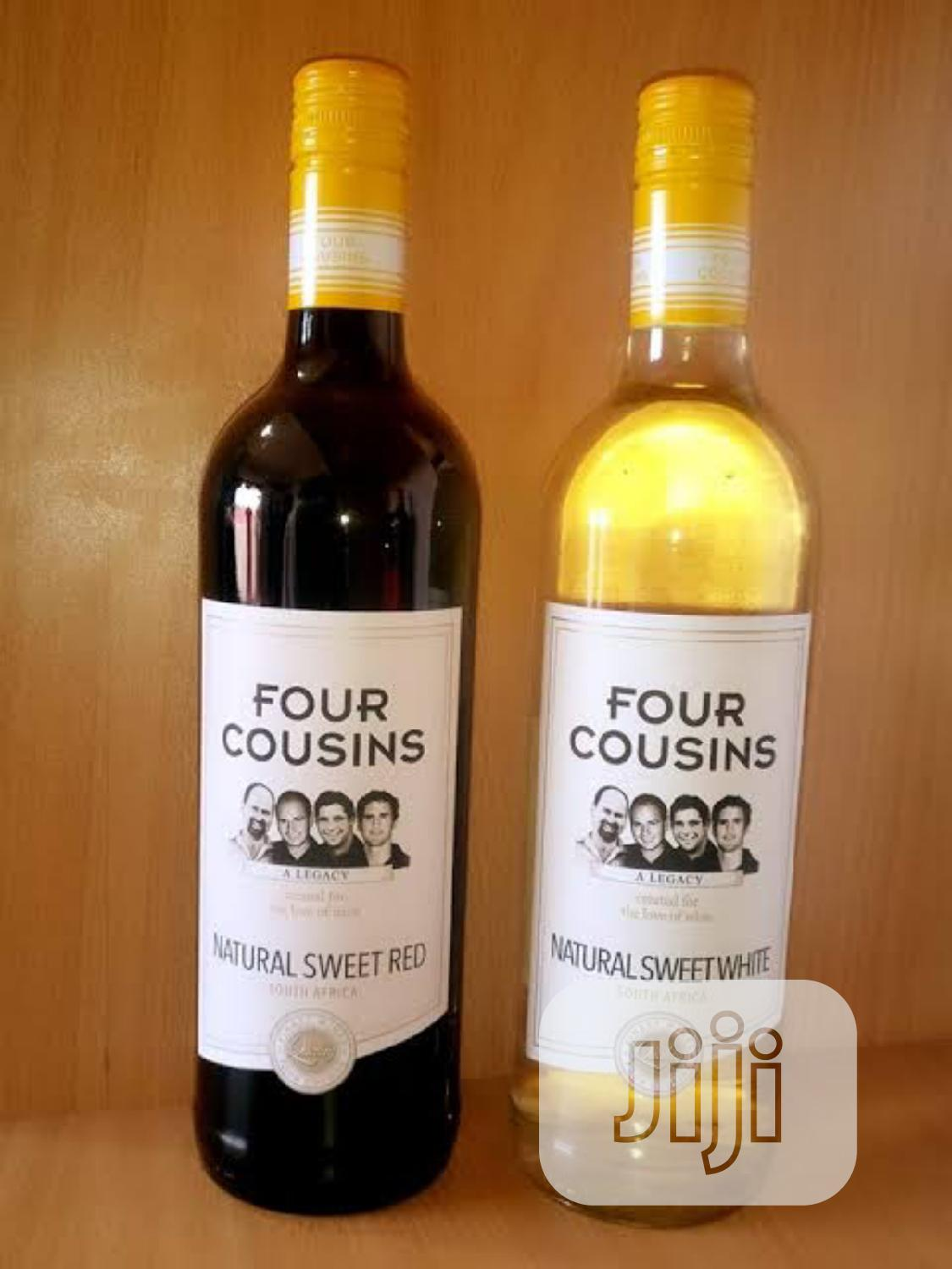 Four Cousins Sweet Red Wine   Meals & Drinks for sale in Lagos Island (Eko), Lagos State, Nigeria