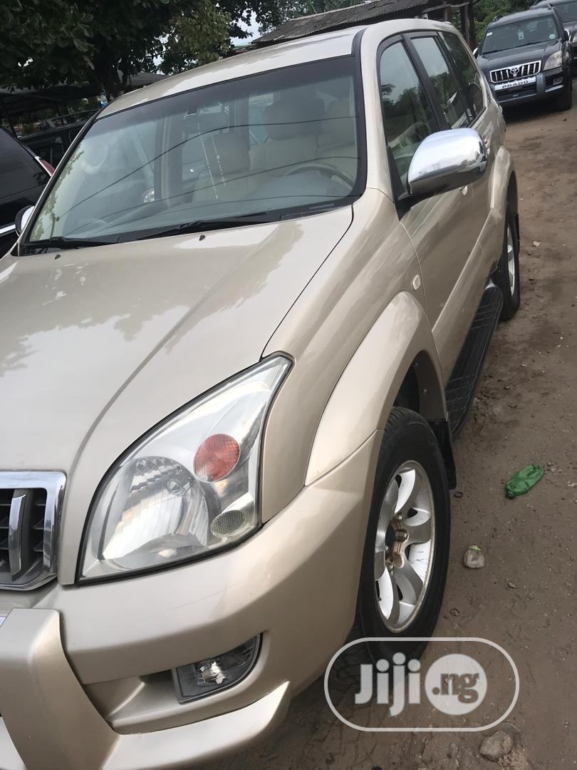 Toyota Land Cruiser Prado 2008 STANDARD Gold | Cars for sale in Amuwo-Odofin, Lagos State, Nigeria