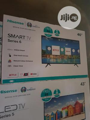 Hisense 40inches Smart Tv With Netflix and Youtube   TV & DVD Equipment for sale in Lagos State, Ojo
