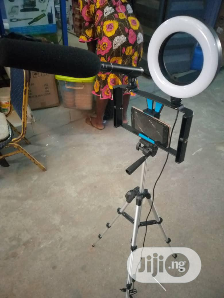 Phone Tripod With Bluetooth Remote Control | Accessories & Supplies for Electronics for sale in Ojo, Lagos State, Nigeria