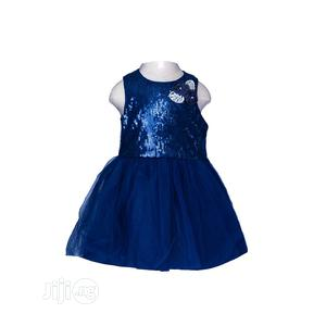 Marmellata Navy Blue Sequence Dress   Children's Clothing for sale in Lagos State, Surulere