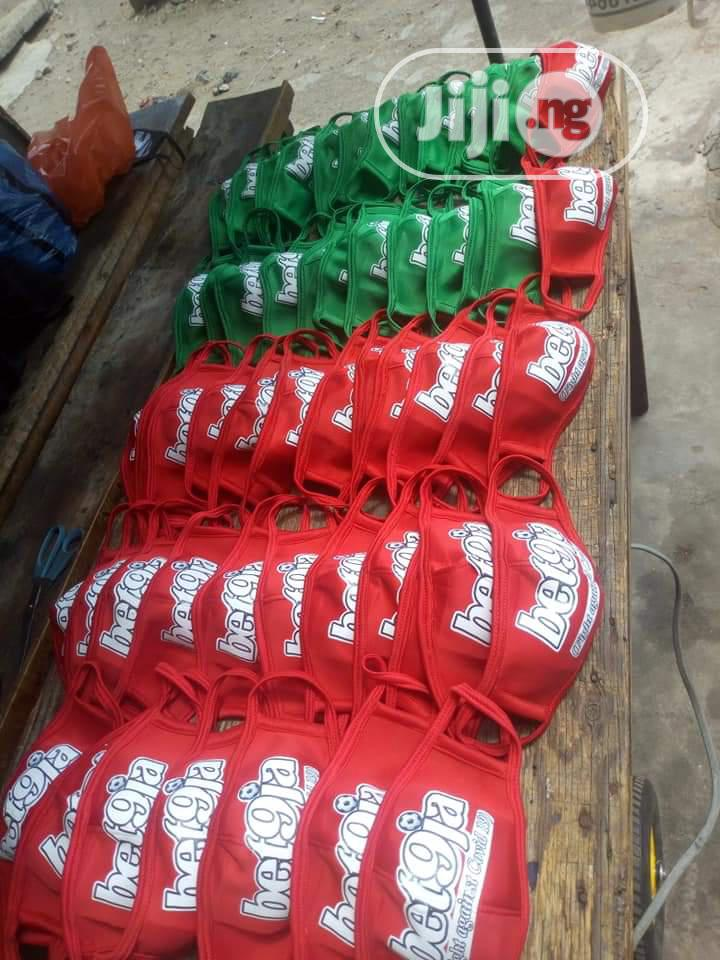 Customized Nose Mask | Clothing Accessories for sale in Ikotun/Igando, Lagos State, Nigeria