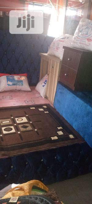 High Quality 6x6 Upholstery Bed / 2 Drawers | Furniture for sale in Lagos State, Ojo