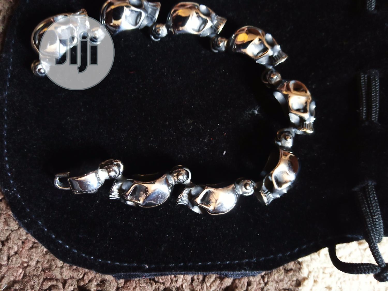 316L Gothic Stainless Steel Bracelet