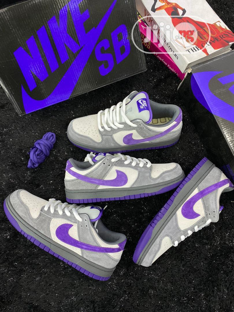 "Nike Dunk SB Low ""Purple Pigeon"""