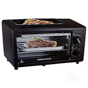 Crown Star 11litres Microwave Oven Baking Grilling | Kitchen Appliances for sale in Lagos State, Alimosho