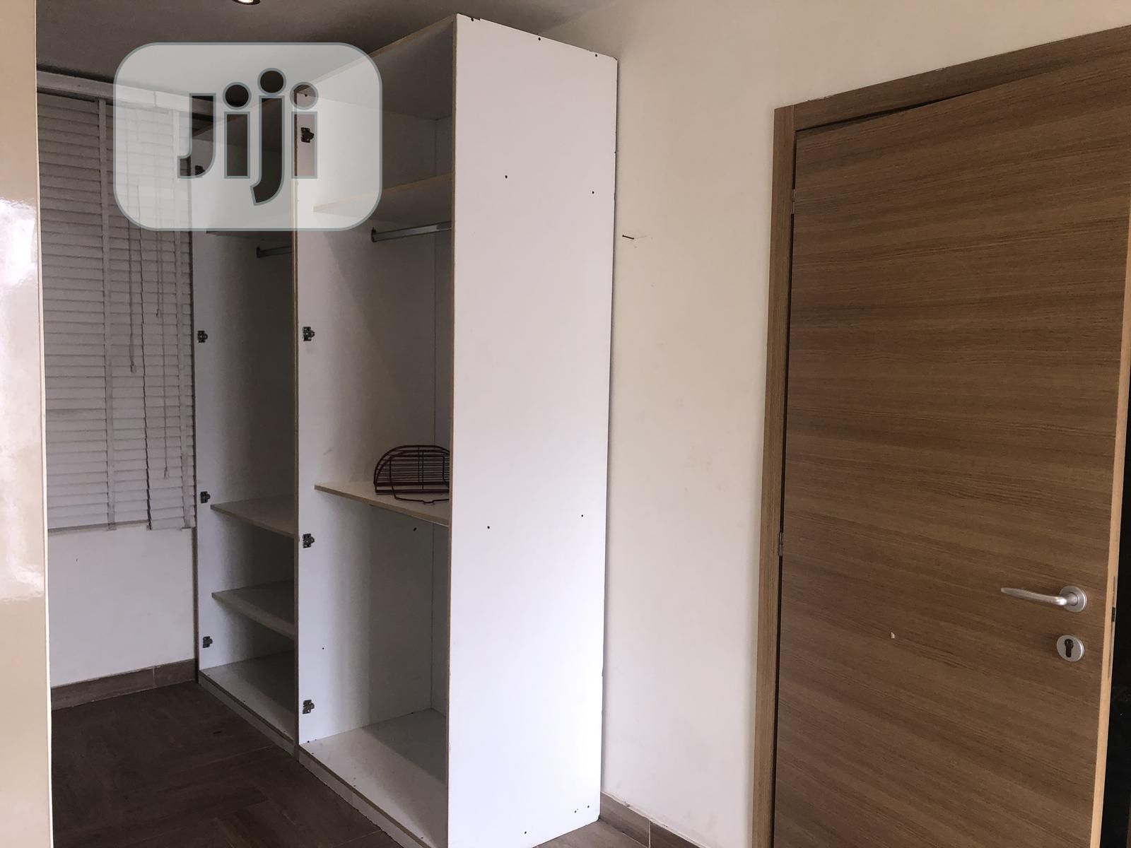Archive: Neatly Used Open Wardrobe For Sale