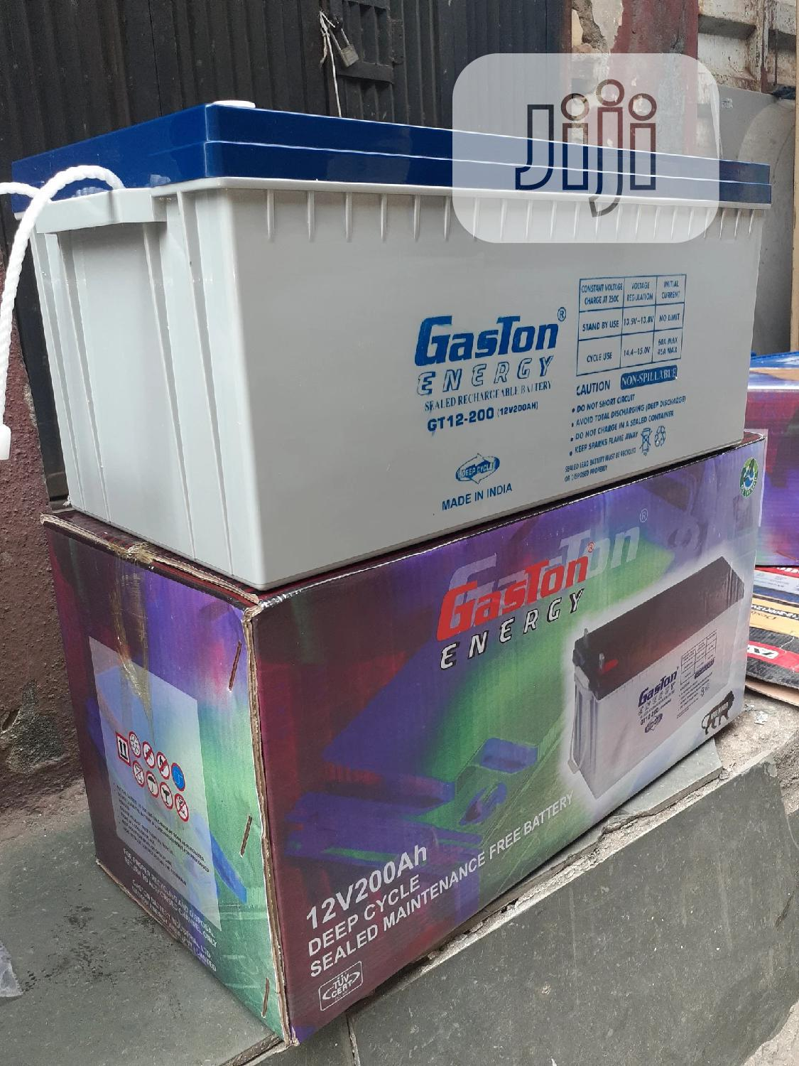 12v 200ah Gaston Battery Available In