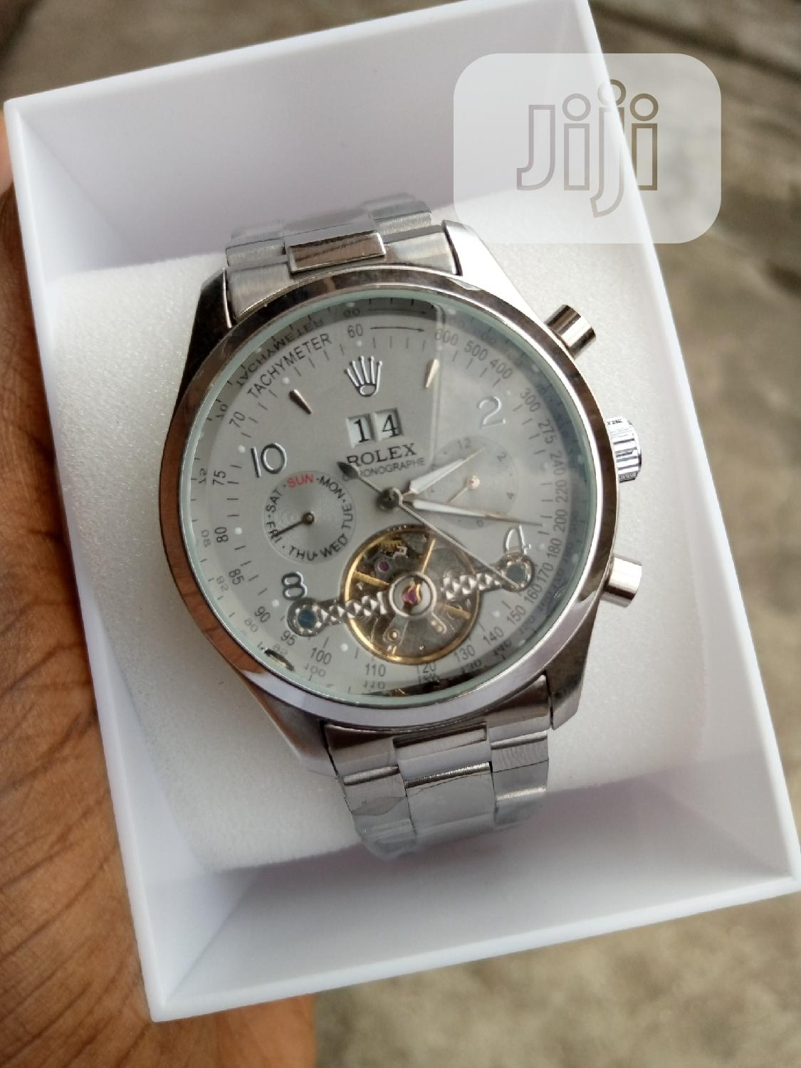 Archive: Rolex Mechanical Watch White Face