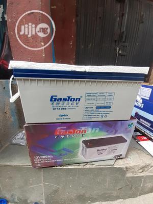 12v 200ah Gaston Battery Now | Solar Energy for sale in Lagos State, Ojo