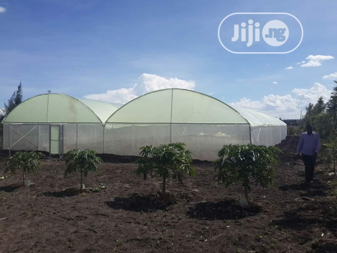 Double Greenhouse For Vegetable