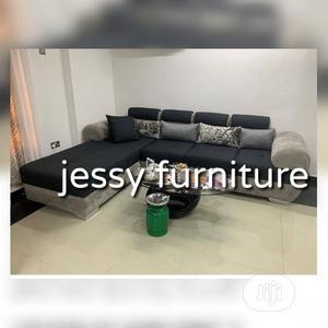 New Set of L-Shaped Fabric Sofa. | Furniture for sale in Lagos State, Agboyi/Ketu