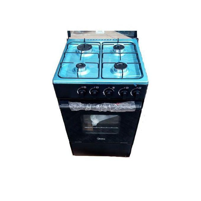 Midea 4 Burner Standing Gas Cooker With Oven and Grill-
