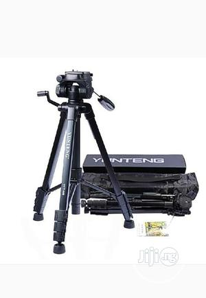 Camera Tripod With 3-way Head +Bluetooth Remote+Phone Holder   Arts & Crafts for sale in Lagos State, Ojo