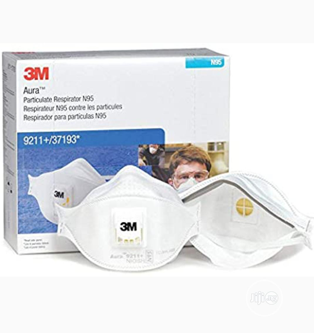 3M Ffpe N95 Mask 9211 | Safety Equipment for sale in Ikeja, Lagos State, Nigeria