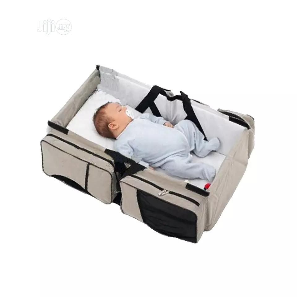 Foldable Crib Multi-function Portable Mom Shoulder Bag