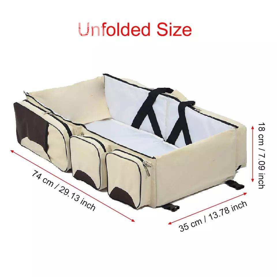 Foldable Crib Multi-function Portable Mom Shoulder Bag | Babies & Kids Accessories for sale in Lagos Island (Eko), Lagos State, Nigeria