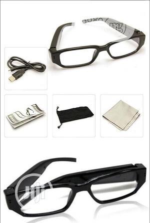 Spy Hidden Camera Eyeglasses Portable Video Recorder Eyewear | Security & Surveillance for sale in Lagos State, Ojo