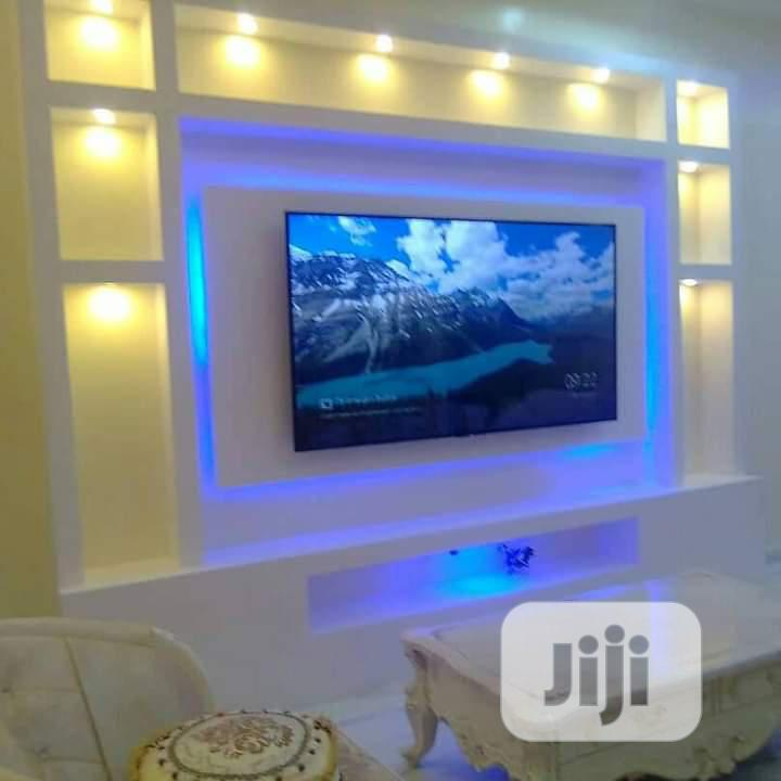 Pop. Tv Wall Design , 3d Panel. Interior Design | Building & Trades Services for sale in Maryland, Lagos State, Nigeria