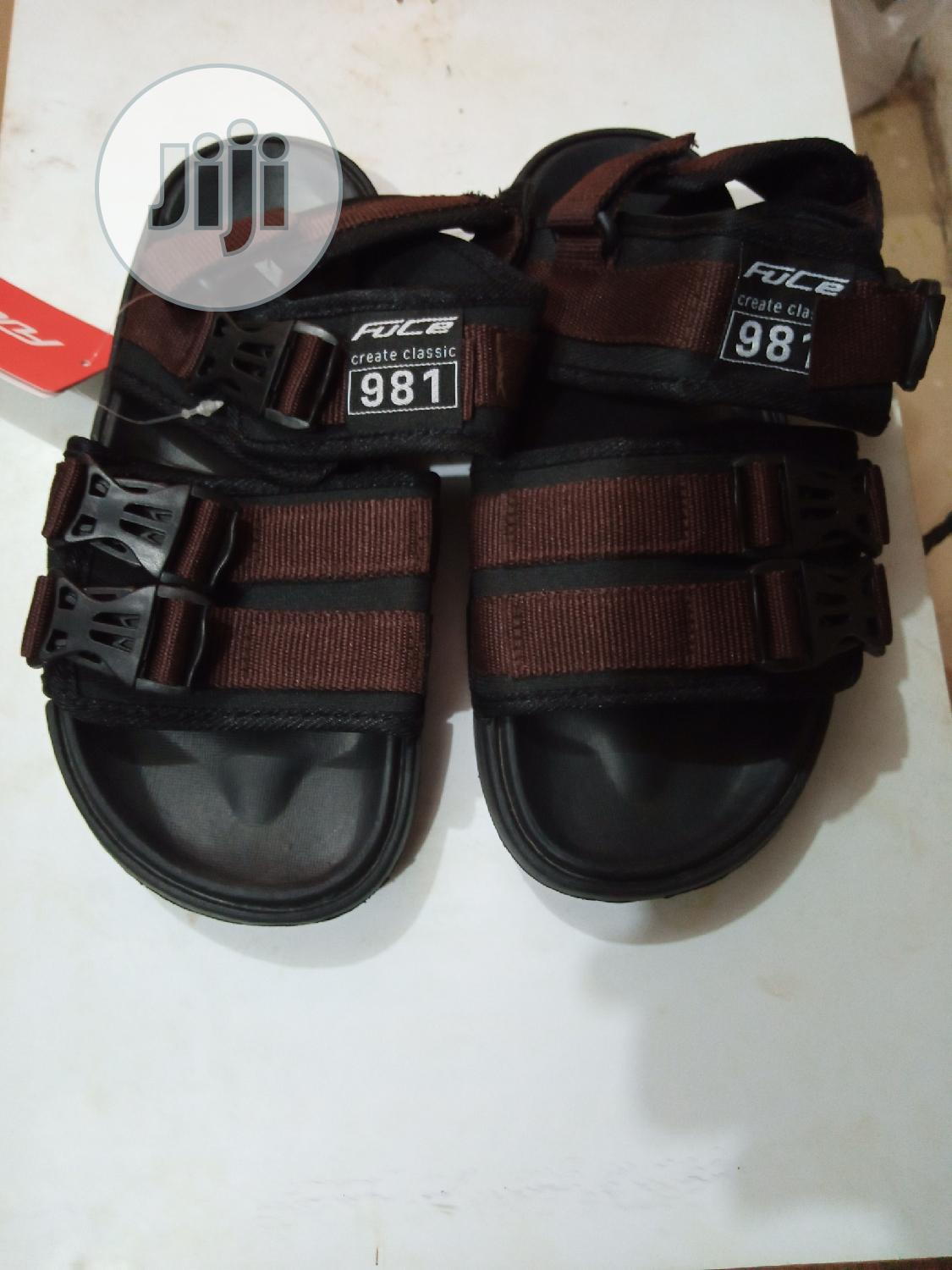 Fuce School Sandals, Black and Brown | Shoes for sale in Ikorodu, Lagos State, Nigeria