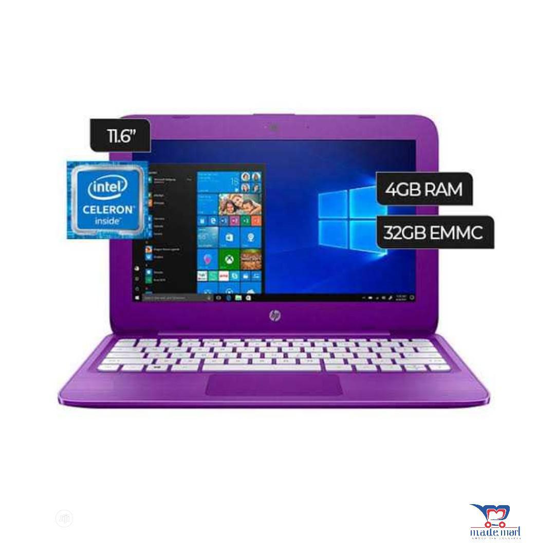 New Laptop HP Stream Notebook 4GB Intel Celeron SSD 32GB