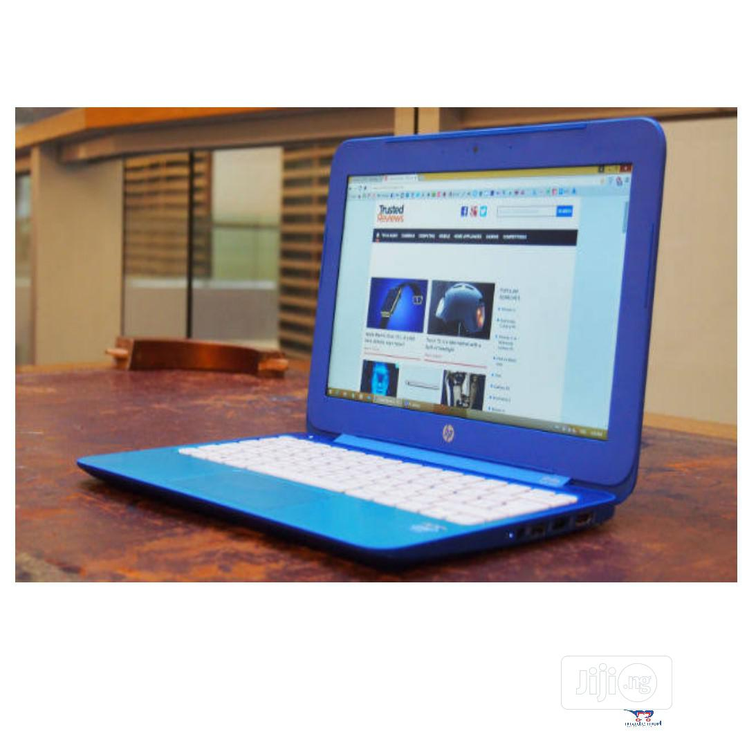 New Laptop HP Stream Notebook 4GB Intel Celeron SSD 32GB | Laptops & Computers for sale in Magodo, Lagos State, Nigeria