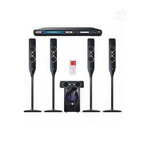 5.1CH Powerful Home Theater DJ-5055 +DVD + SURGE   Audio & Music Equipment for sale in Lagos State, Ojo