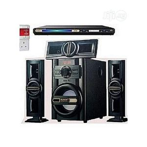 Dj-503 Bluetooth Home Theater System+DVD Player+Surge   Audio & Music Equipment for sale in Lagos State, Ojo