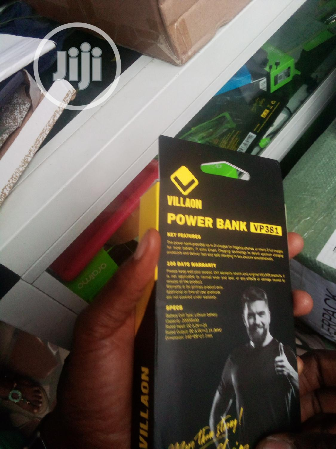 Villaon 20000mah Powerbank | Accessories for Mobile Phones & Tablets for sale in Ikeja, Lagos State, Nigeria