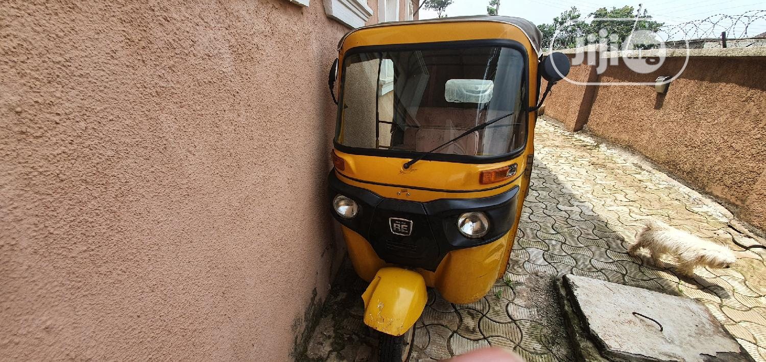 Bajaj RE 2018 Yellow | Motorcycles & Scooters for sale in Apo District, Abuja (FCT) State, Nigeria
