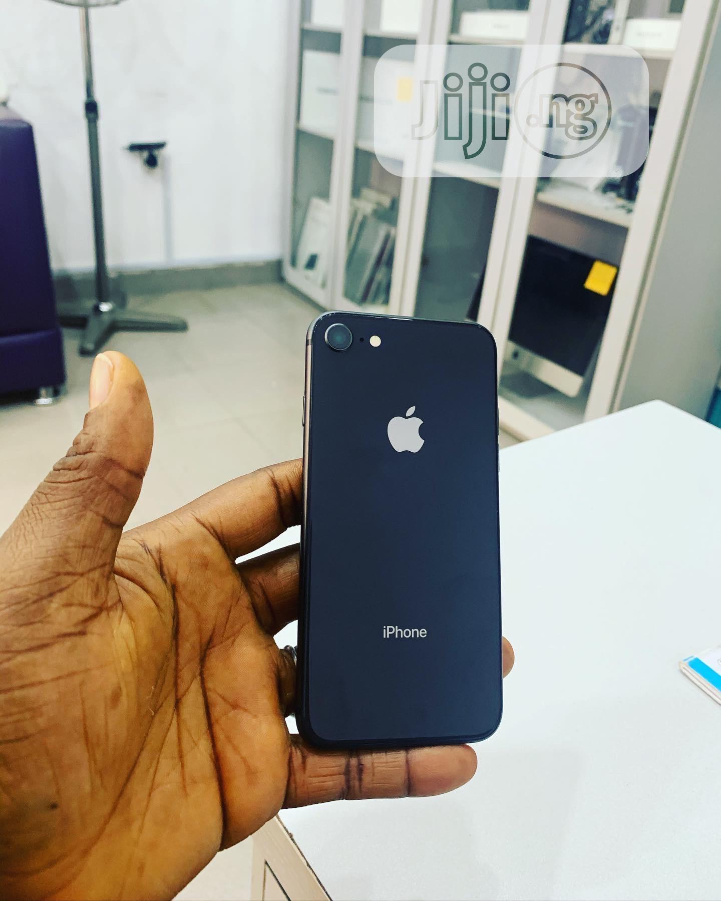 Apple iPhone 8 64 GB Gray   Mobile Phones for sale in Ikeja, Lagos State, Nigeria