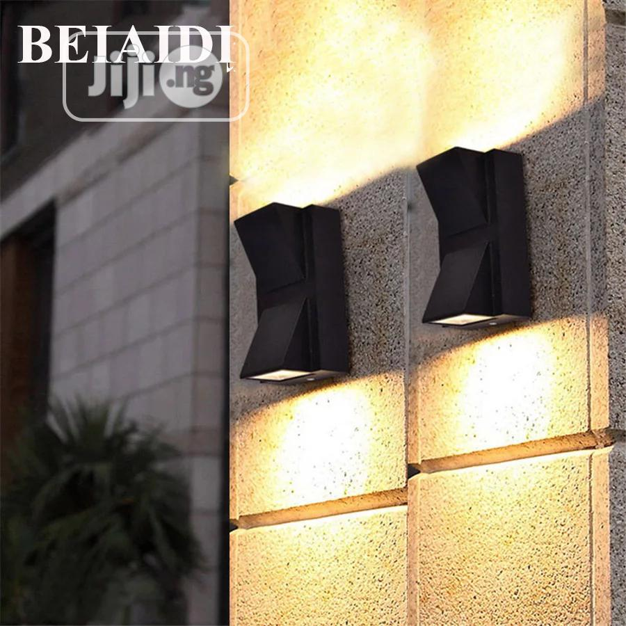 BEIAIDI 6W Modern Up Down Led Wall Lamp Outdoor Garden Light