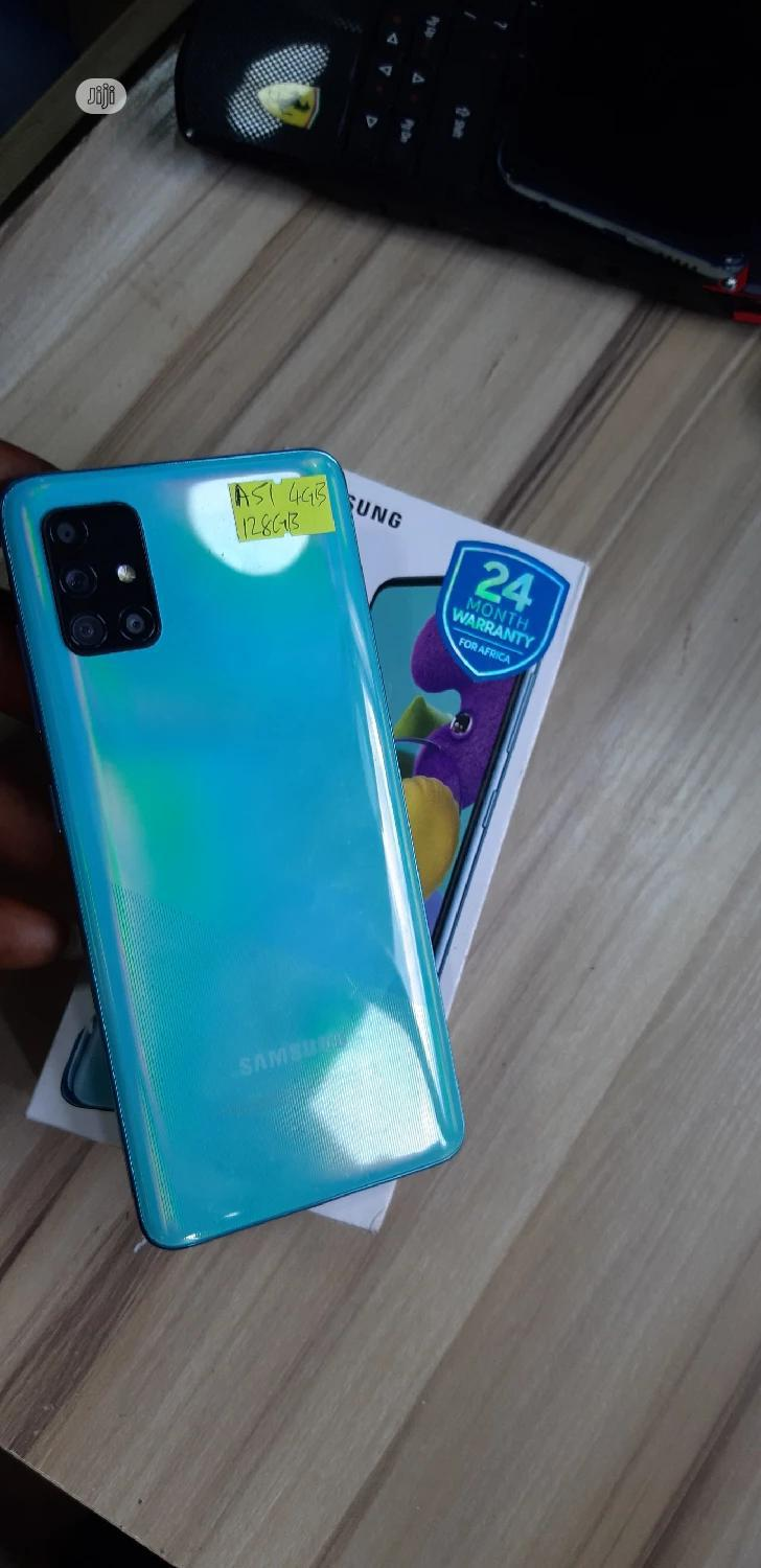 Samsung Galaxy A51 128 GB | Mobile Phones for sale in Central Business Dis, Abuja (FCT) State, Nigeria