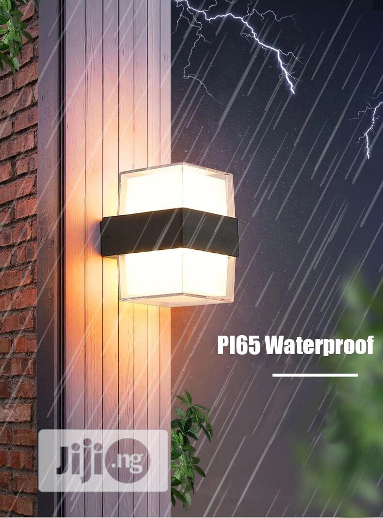 BEIAIDI Modern Up Down Led Wall Lamp Outdoor Garden Light