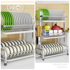 Non Rusty Original 3 Layer Stainless Dish Drainer   Kitchen & Dining for sale in Lagos State, Alimosho