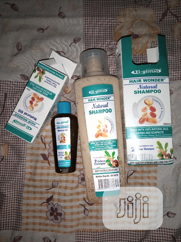 Hair Wonder Shampoo, Oil For Hair Growth | Hair Beauty for sale in Gbagada, Lagos State, Nigeria
