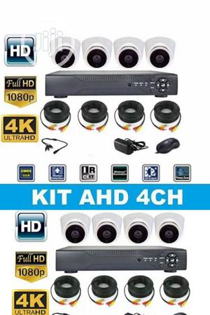 4CH CCTV Combo Kits Camera With Internet Remote View | Security & Surveillance for sale in Lagos State, Ikeja