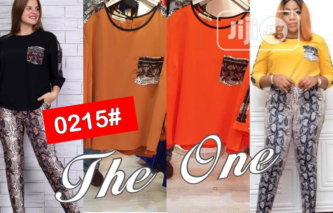 Quality Female Top and Trouser | Clothing for sale in Ikeja, Lagos State, Nigeria