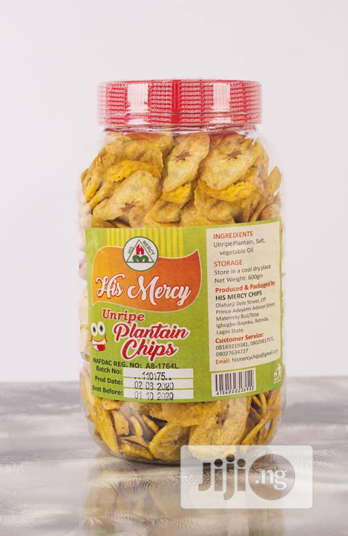 Unripe Plantain Chips