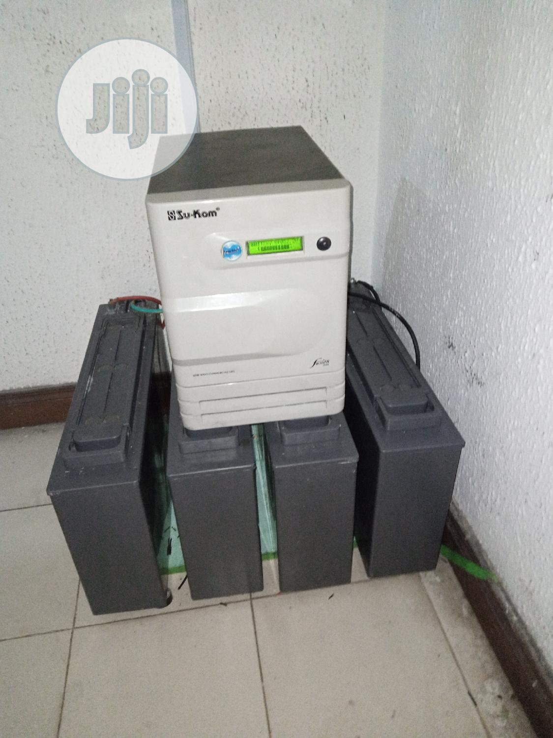 Power Cycle Inverter Battery (German Made) | Solar Energy for sale in Port-Harcourt, Rivers State, Nigeria