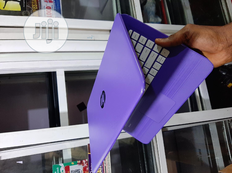 Laptop HP Stream 14-cb110nr 4GB Intel Pentium SSD 32GB | Laptops & Computers for sale in Ikeja, Lagos State, Nigeria