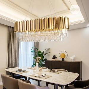 Modern Crystal Chandelier for Living Oval Luxury by 750mm   Home Accessories for sale in Lagos State, Mushin