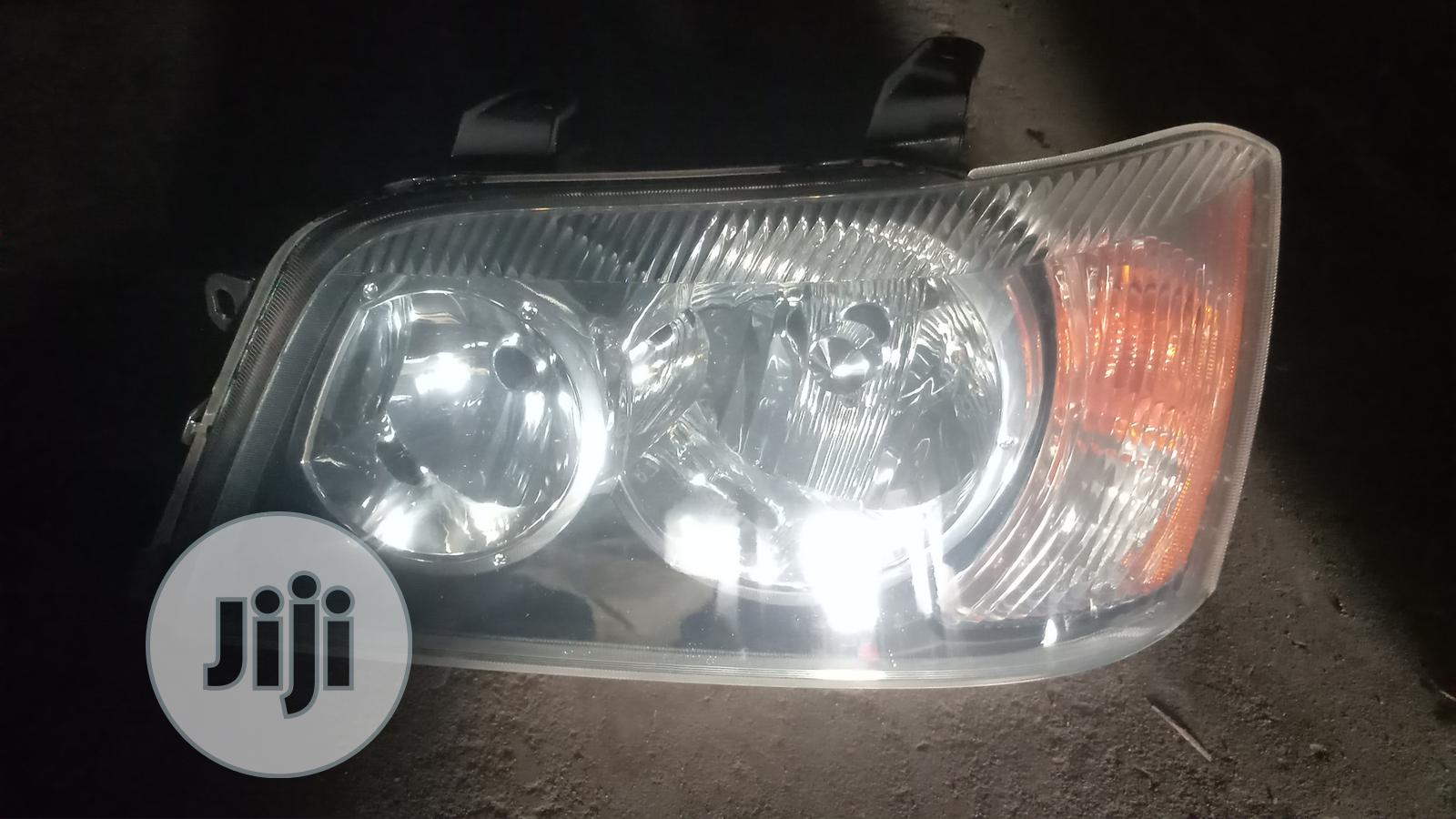Headlamp for Toyota Hughlander 2007 Model