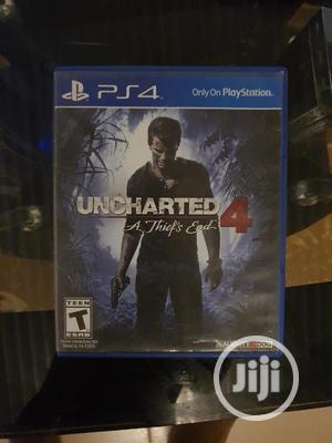 Uncharted 4 Disc   Video Games for sale in Edo State, Benin City