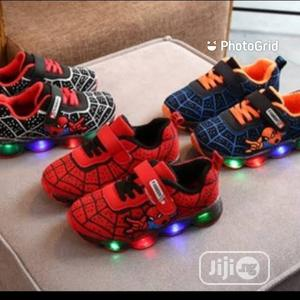 Hot Selling 2020 Kids Led Light Spider Design Shoes | Children's Shoes for sale in Lagos State, Victoria Island